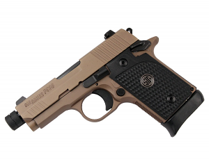 Sig Sauer P938 9mm, Night Sights, Emperor Scorpion - Threaded BBL