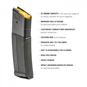Daniel Defense 32RD 5.56mm DD Magazine - 12 Pack