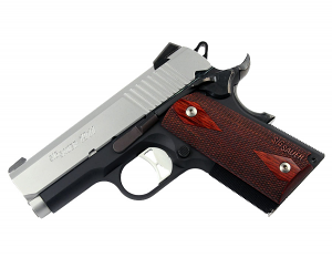 Sig Sauer 1911 Ultra Compact, Two-Tone, 9mm, Night Sights