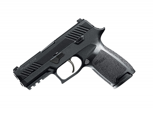 Sig Sauer P320 Carry, .45ACP, Nitron, SigLite Night Sights, DAO