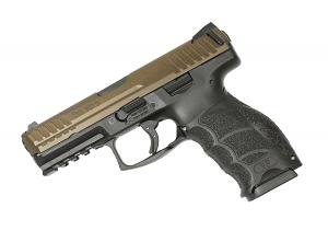 H&K VP9 9mm Striker Fired, Fixed Sights - Midnight Bronze