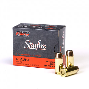 PMC Starfire, 45 ACP, 230 GR, Hollow Point, 20RD