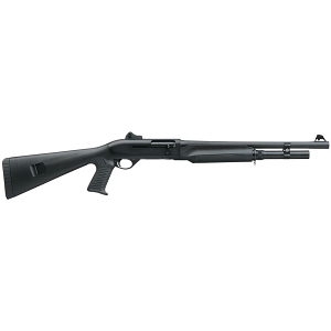 Benelli M2 Tactical Shotgun W/Pistol Grip, 18.5