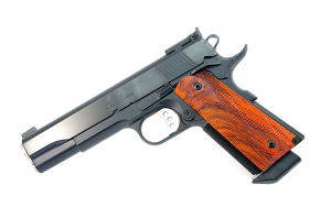 Ed Brown Classic Custom, 5 inch, .45ACP, All Blue, Adjustable Target Sights