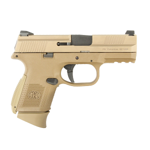FN FNS-9 Compact, 9mm, FDE