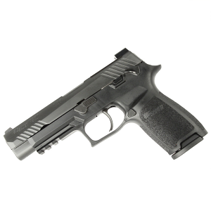 Sig Sauer P320 M17 Bravo, 9mm, Nitron, SigLite Night Sights, Black