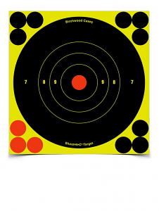 SHOOT-N-C Bull's Eye Targets - 5.5