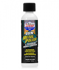 Lucas Gun Metal Polish - 4oz