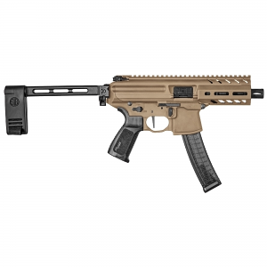 Sig Sauer MPX K W/ Pistol Brace, 9mm, Coyote