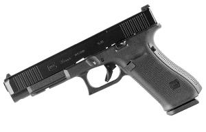 Glock 34 GEN 5 MOS 9mm - Black - Front Serrations