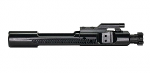 White Label Armory M16 Bolt Carrier Group - 5.56 Billet Extractor C158 Bolt - Black Nitride