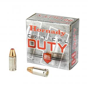 Hornady 9mm Luger +P 125 GR. FlexLock Critical Duty - 25RD