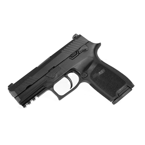 Sig Sauer P320 Carry, 9mm, Nitron, SigLite Night Sights - Manual Safety