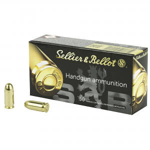 Sellier & Bellot .380 Auto 92 GR. FMJ - 50RD