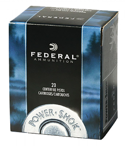 Federal Power-Shok 357 Mag 180 GR JHP - 20RD