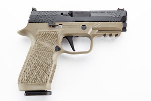 Wilson Combat / Sig Sauer P320, Carry, 9mm, Action Tune with Straight Trigger - Tan Module