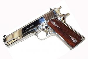 Colt Custom .38 Super, Bright Stainless