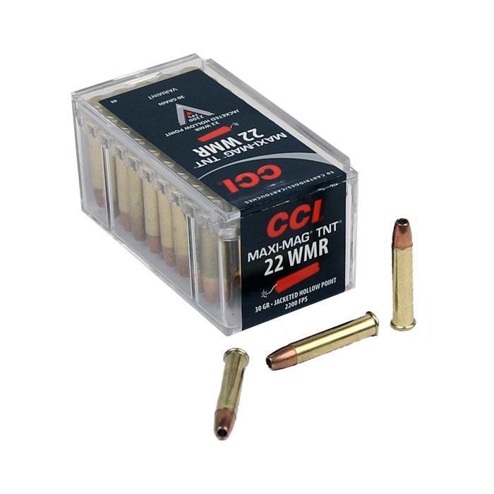 CCI Maxi Mag TNT .22WMR 30GR JHP - 50RD