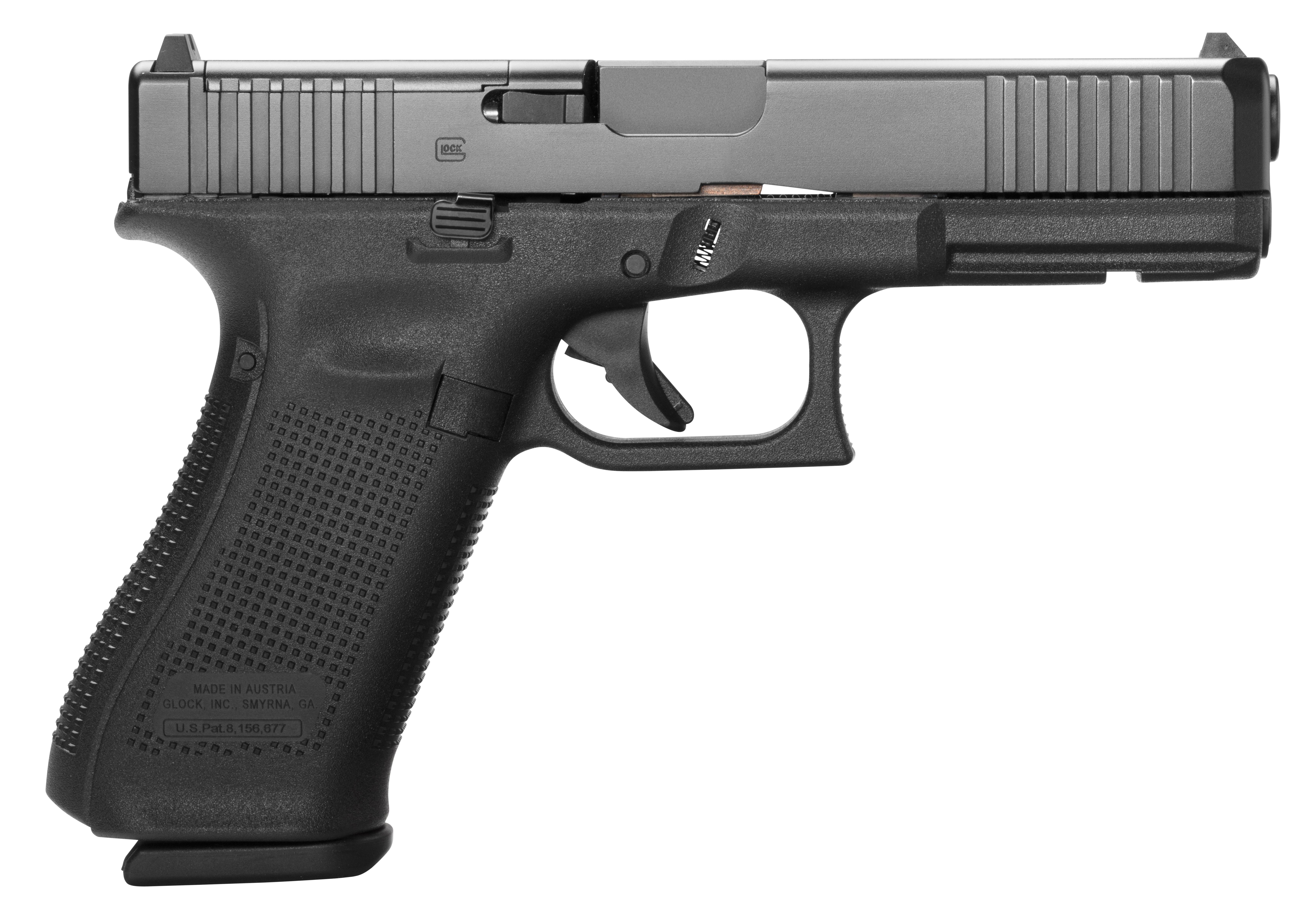 Glock 17 Gen 5 MOS 9mm - Black
