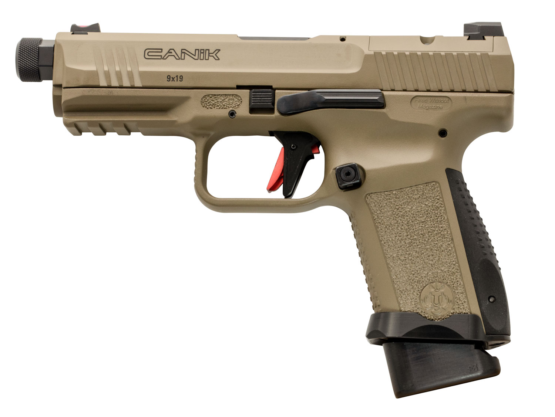 Canik TP9 Elite Combat - Desert Tan - 9mm - W/ Vortex Viper Red Dot