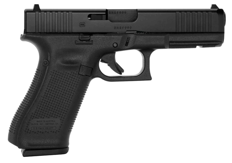 Glock 17 GEN 5 9mm - Black - Front Serrations