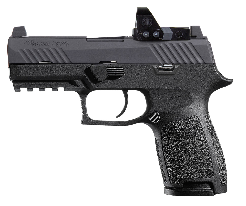 Sig Sauer P320 Compact, 9mm, Nitron, Contrast Sights - Romeo1