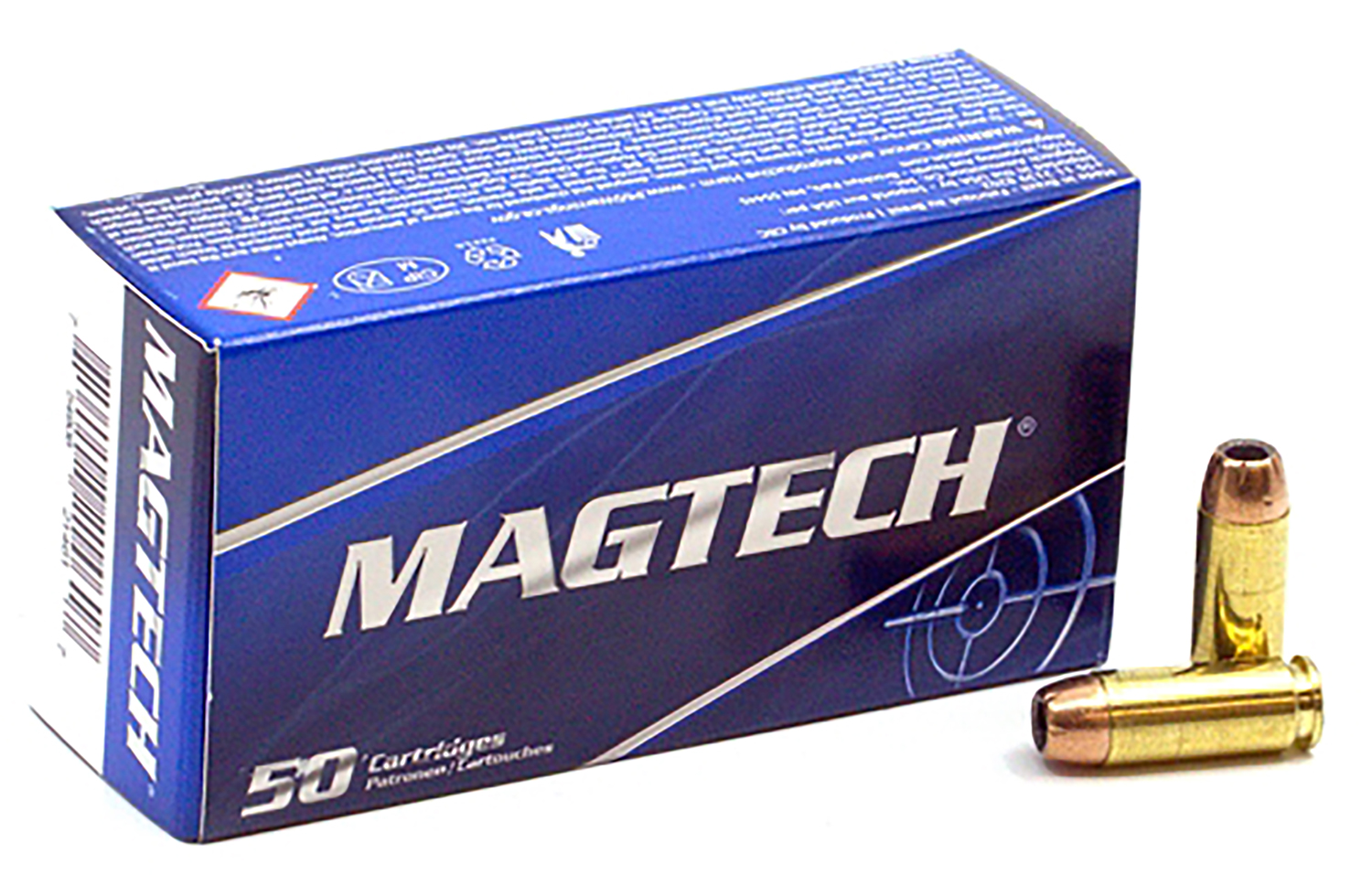 Magtech 10B Self Defense 10mm Auto 180 gr Jacketed Hollow Point (JHP) 50 Box