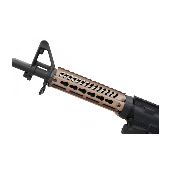ERGO Keymod Slim 2-Piece Rail System - AR15 - Dark Earth