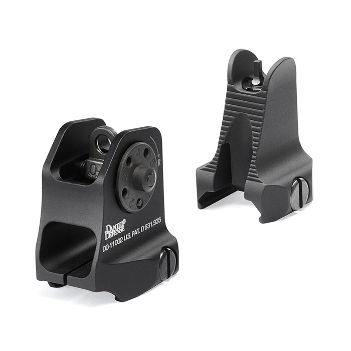Daniel Defense Fixed Front/Rear AR-15 Sight Combo
