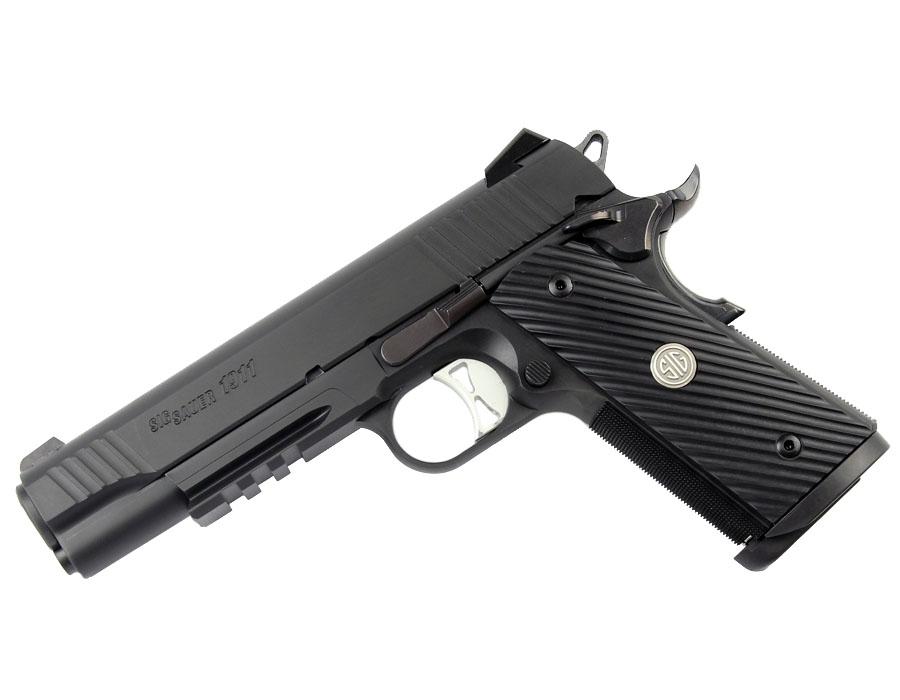 Sig Sauer 1911TR TACOPS, 9mm, Nitron, Night Sights