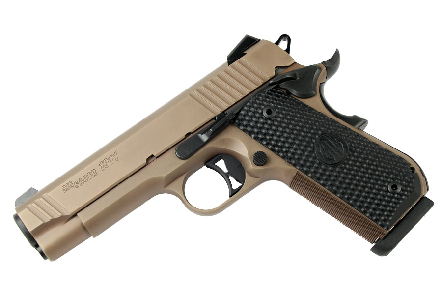 Sig Sauer 1911 Fastback Emperor Scorpion Carry, .357SIG, Night Sights