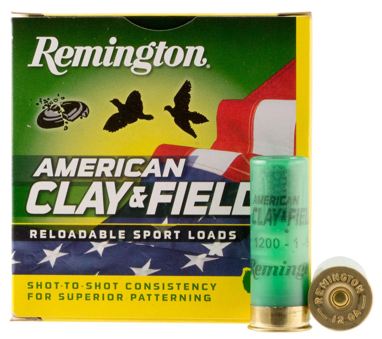 Remington Ammunition 20358 American Clay & Field Sport 12 Gauge 2.75
