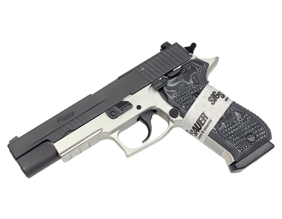 Sig Sauer P220R Stainless Match Elite, Reverse Two-Tone, 10MM, DA/SA