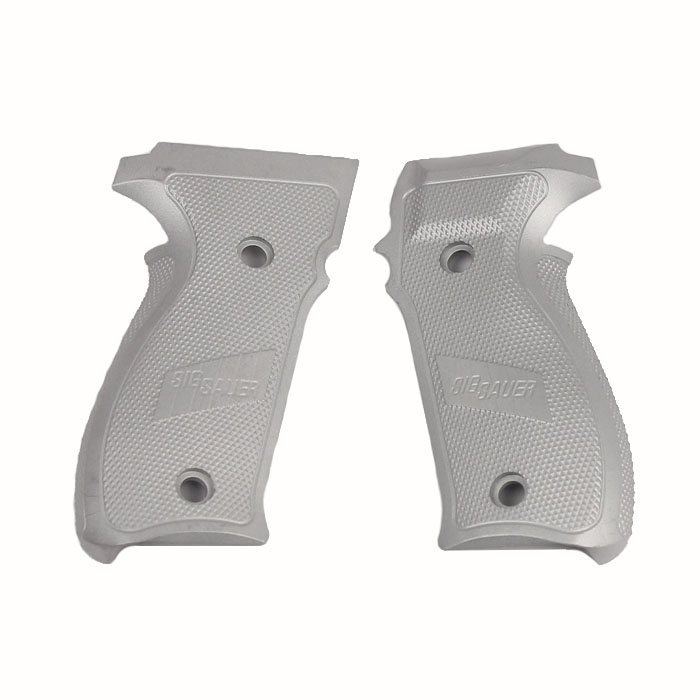 Sig Sauer P226 Grips, Aluminum - CLEAR