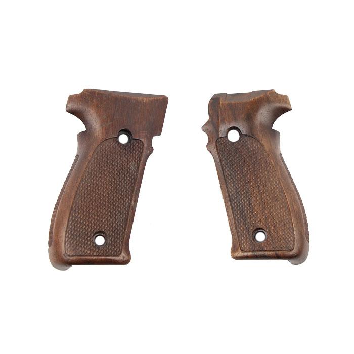 Sig Sauer P226 Grips - Wood - Factory Original