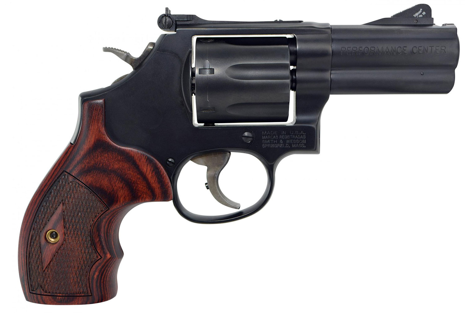 Smith & Wesson 170170 Performance Center 586 L-Comp 357 Mag 7rd 3