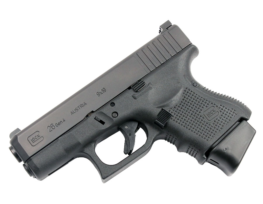 Glock 26 Gen 4, Trijicon HD Night Sights - 9mm - USED