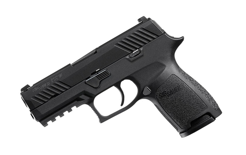 Sig Sauer P320 Compact, 9mm, Nitron, SigLite Night Sights, DAO