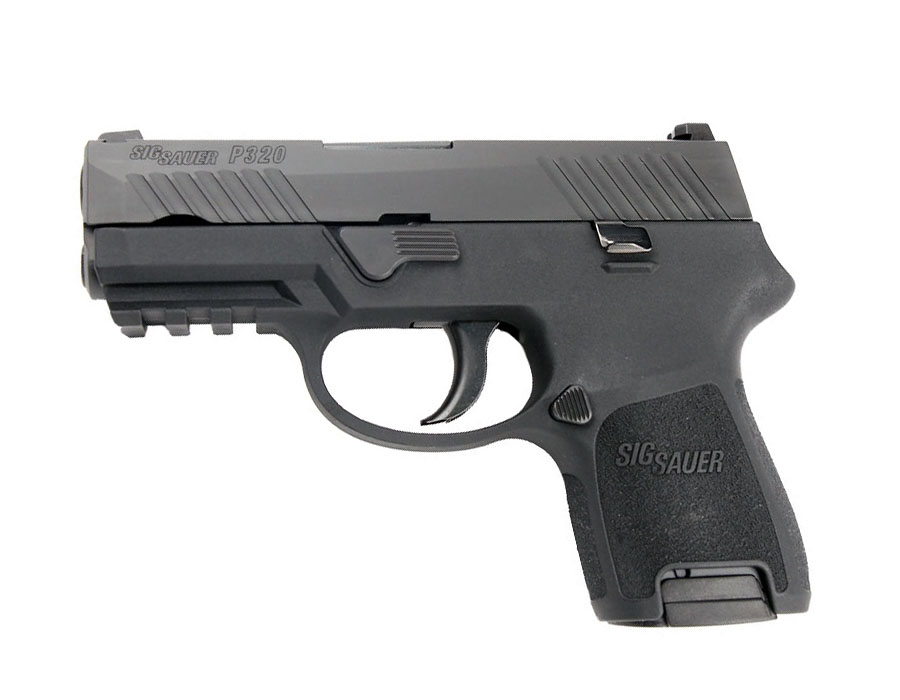 Sig Sauer P320 Sub-Compact Railed 9mm - IOP