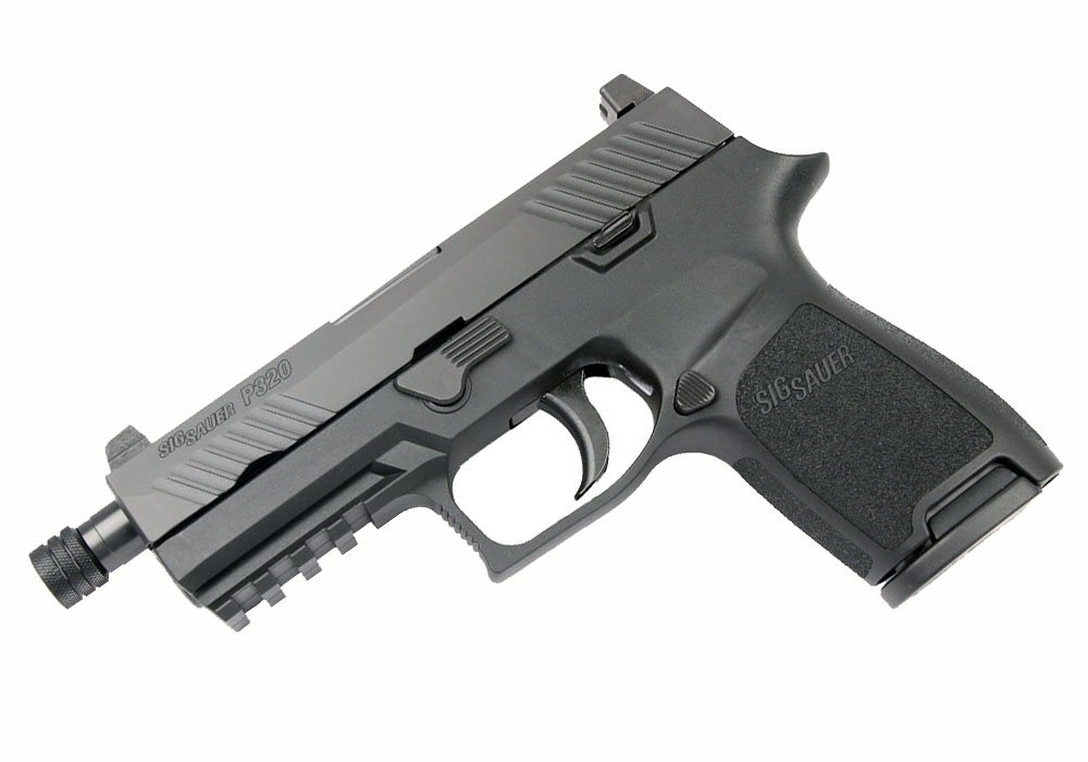 Sig Sauer P320 Compact, 9mm, Nitron, Tall Night Sights, DAO - Threaded BBL
