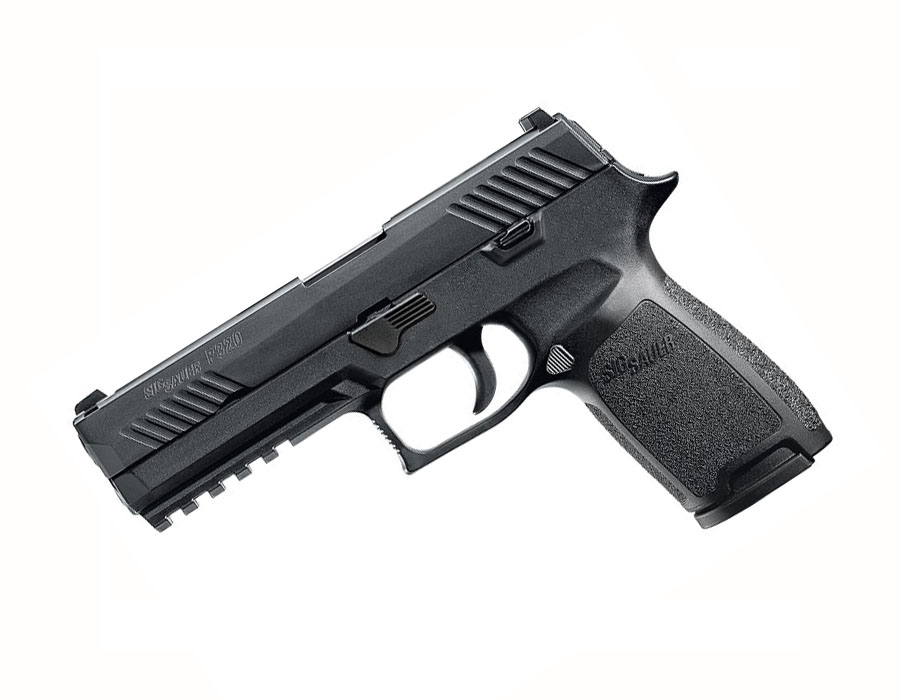 Sig Sauer P320 Full Size, .45ACP, Nitron, SigLite Night Sights, DAO