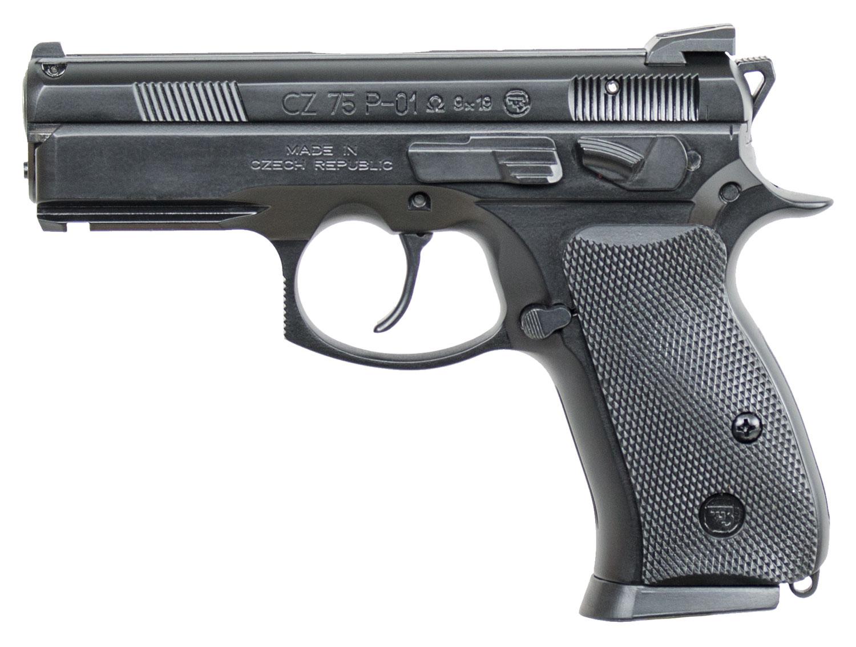 CZ P01 Omega Convertible, Fixed Sights, 9mm