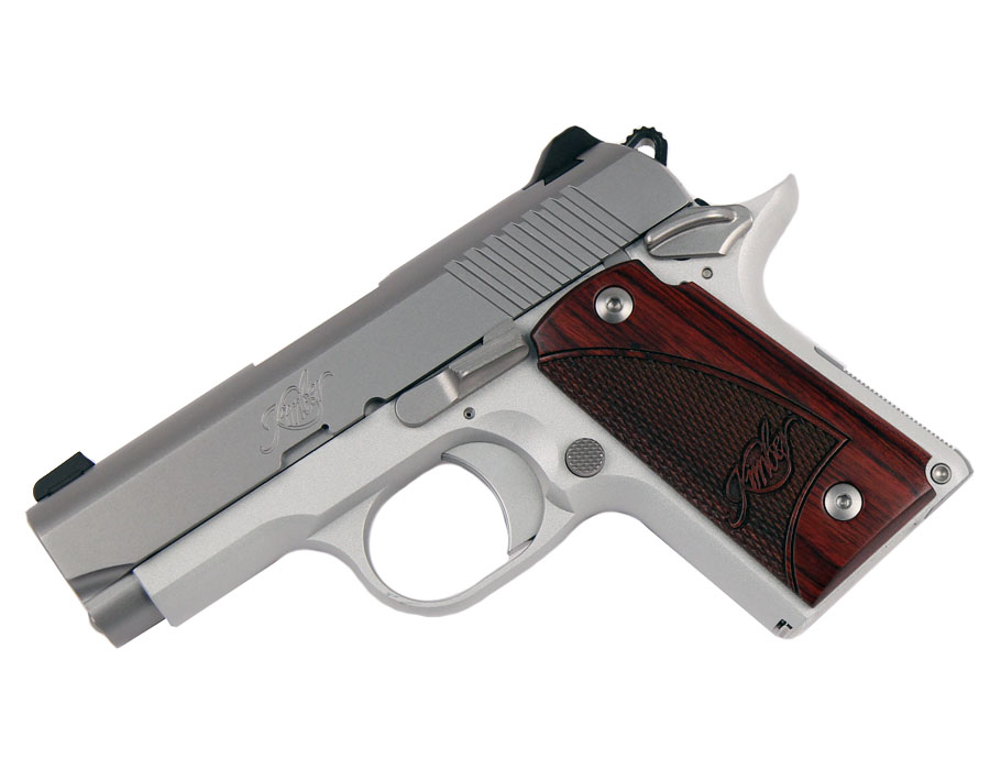 Kimber Micro 9 Stainless Rosewood - 9mm