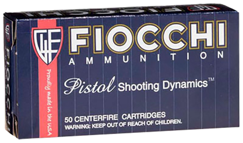 Fiocchi 9MAK Shooting Dynamics 9x18 Makarov 95 gr Metal Case (FMJ) 50/B0x