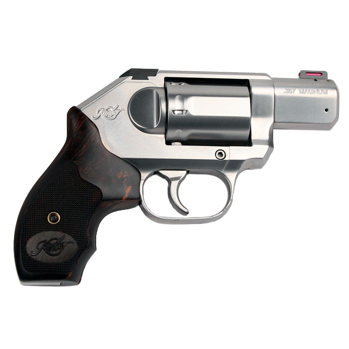 Kimber K6S Stainless Deluxe Carry Revolver .357 Magnum - Wood Grips