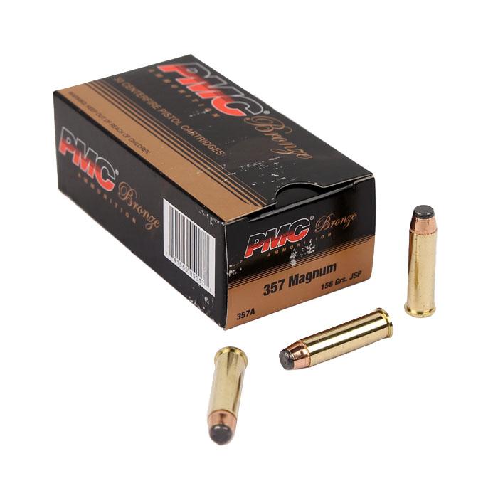 PMC Bronze .357 Magnum 158 GR. JSP - 50RD