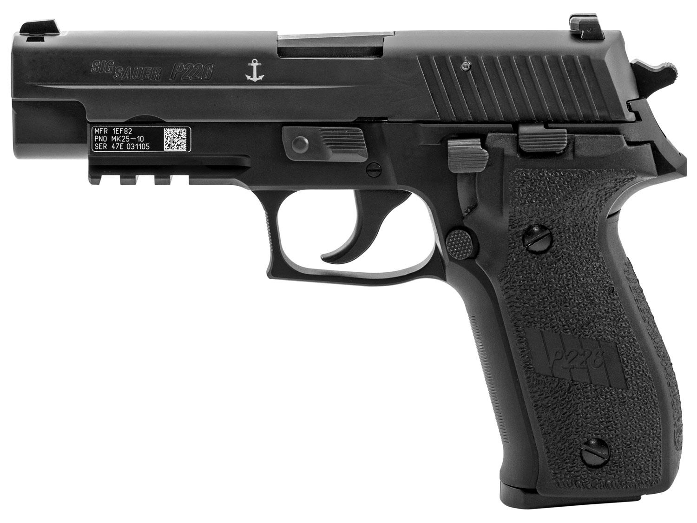 Sig Sauer MK25-10 P226 MK25 w/Engraved US Navy Anchor 9mm Luger 4.40