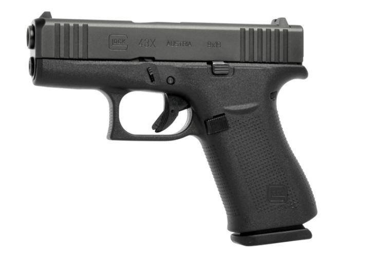 Glock 43X 9mm - Black