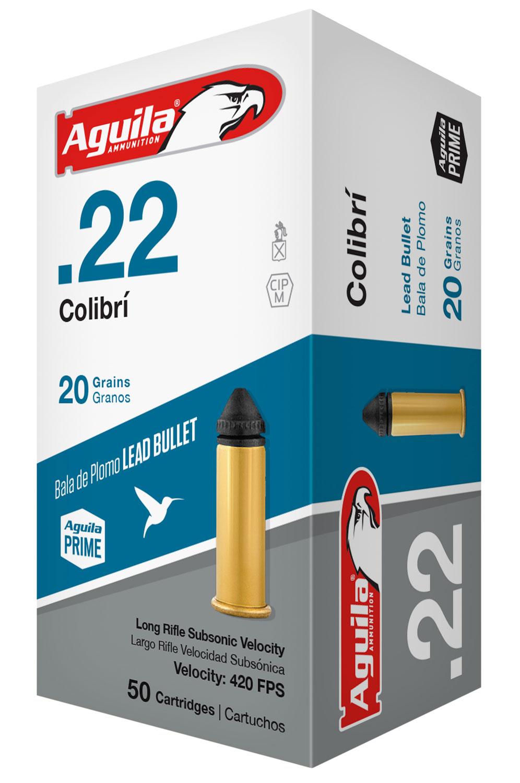 Aguila Colibri .22 20GR SP - 50RD