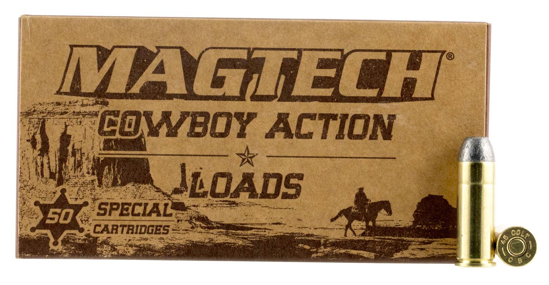 Magtech 45F Cowboy Action 45 Colt (LC) 200 gr Lead Flat Nose (LFN)
